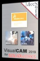 VisualCAM 2019 for SOLIDWORKS – MILL – EDU – Professional