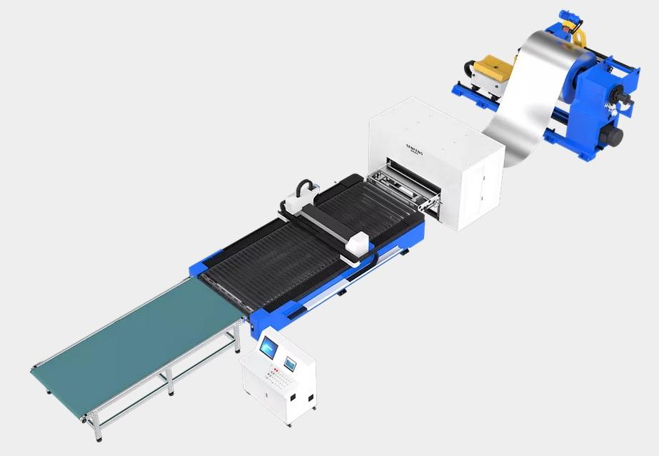 Coil Fed Fiber Laser Cutting Machine 5
