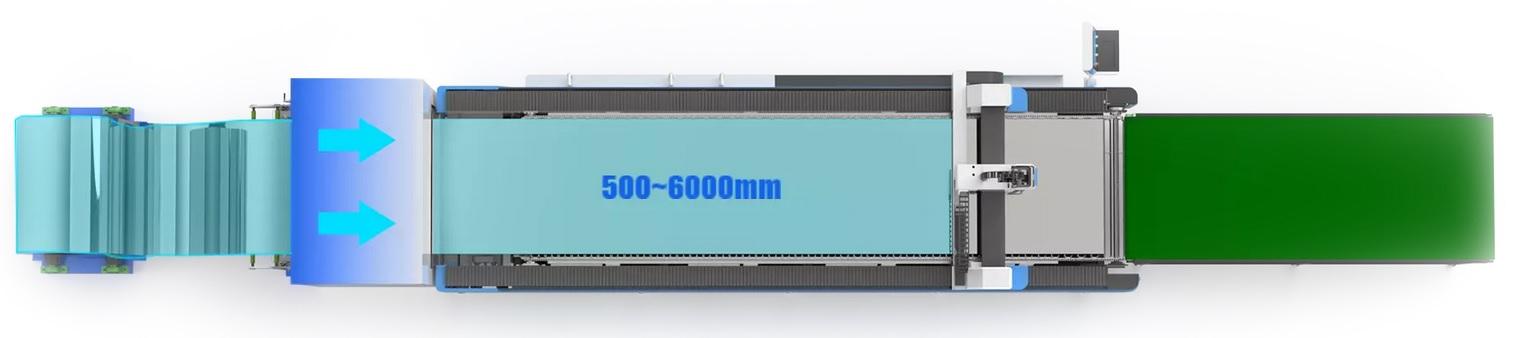 Coiled Fiber Laser cutting machine 2